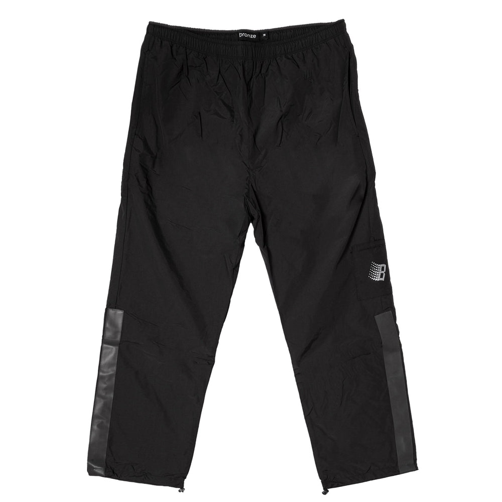 Bronze Track Pants -  Black