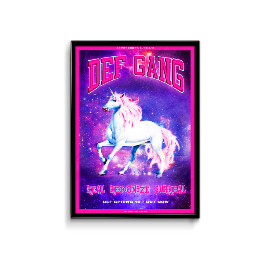 Def Store Spring Unicorn Drop Poster - A3 (Pre-order)