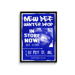 Def Store Winter ODB Drop Poster - A3