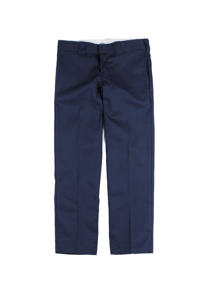 Dickies 873 Slim Straight Fit Work Pants - Dark Navy (F)