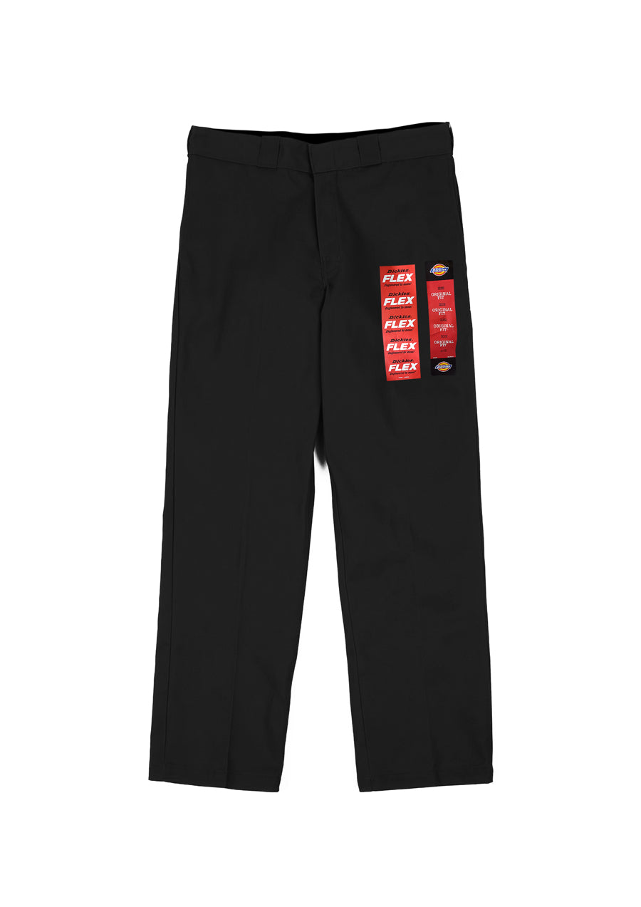 Dickies 874 Original Flex Relaxed Straight Fit Work Pants - Black (D)