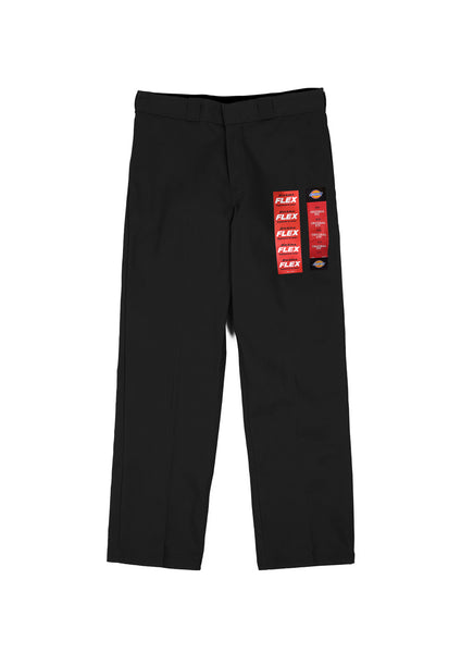 Dickies 874 Original Flex Relaxed Straight Fit Work Pants - Black (F)