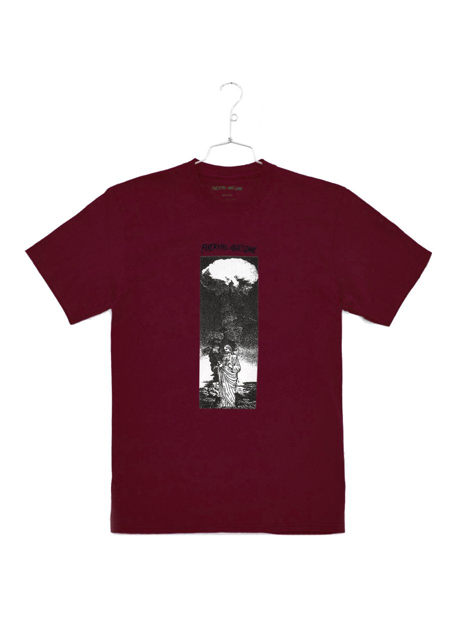 FA Lord Of Bombs Tee - Maroon (B)