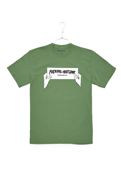 FA Weird Out There Tee - Green (B)