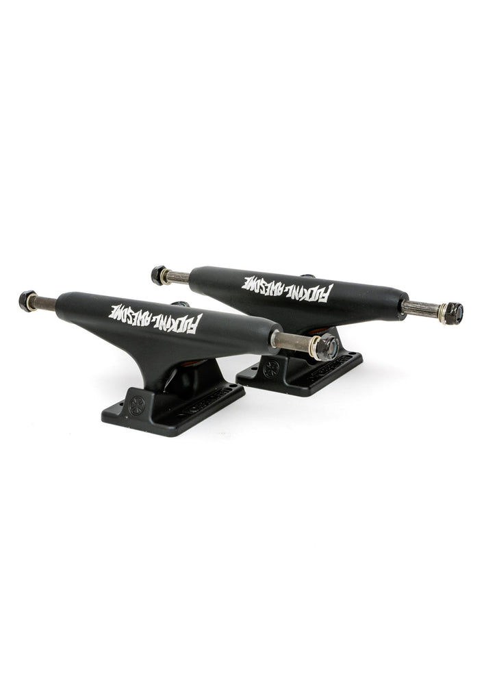 Fucking Awesome x Independent Stage 11 Standard Trucks - Black