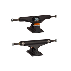 Independent Stage 11 Dual Cross Flat Black Trucks - Four Sizes