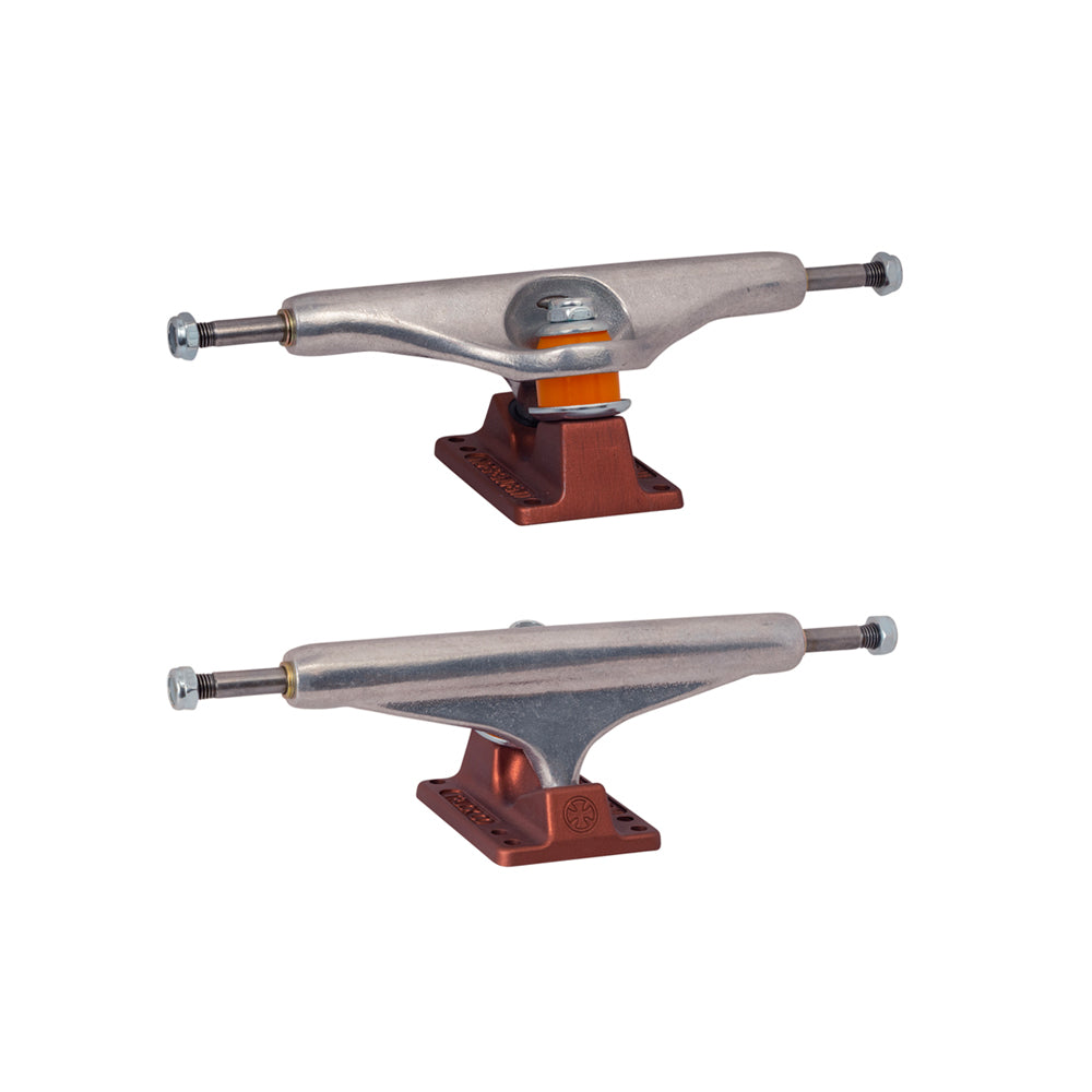 Independent 139 Stage 11 Hollow Anodized Trucks - Dark Red (Pair Set)