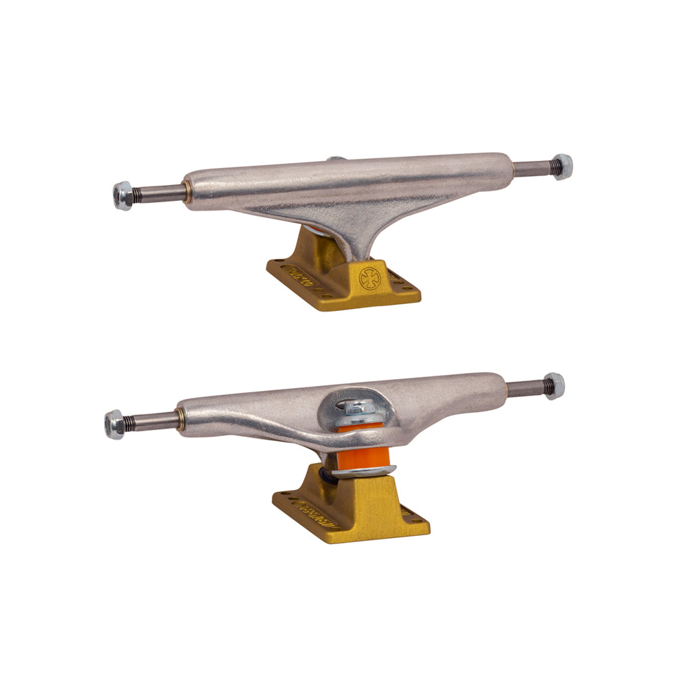 Independent 139 Stage 11 Hollow Anodized Trucks - Gold (Pair Set)