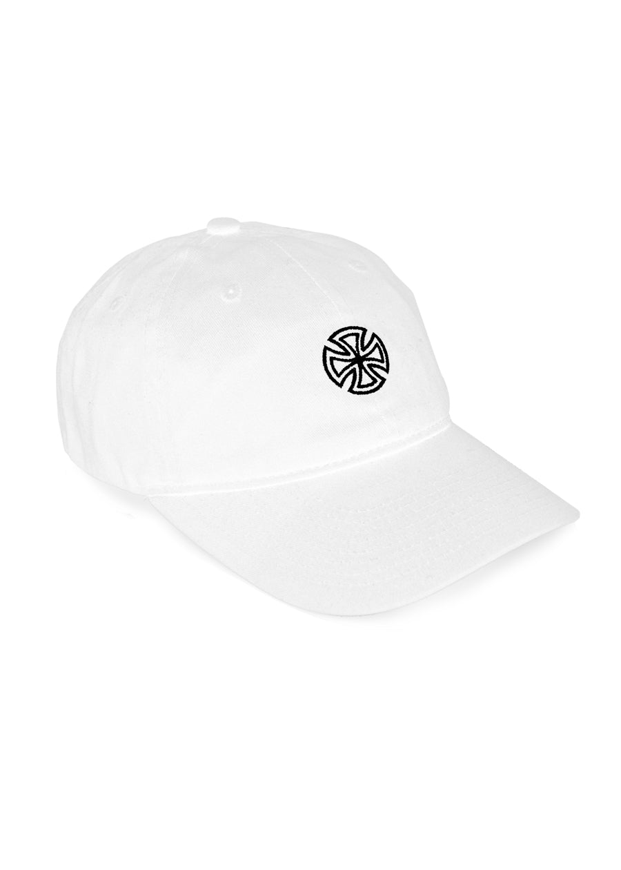 Independent Trucks Co. Cross Hat - White