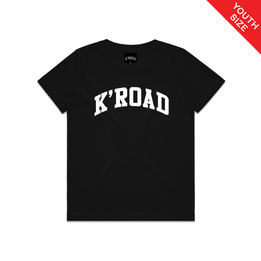 K'ROAD YOUTH Arch Tee - Black