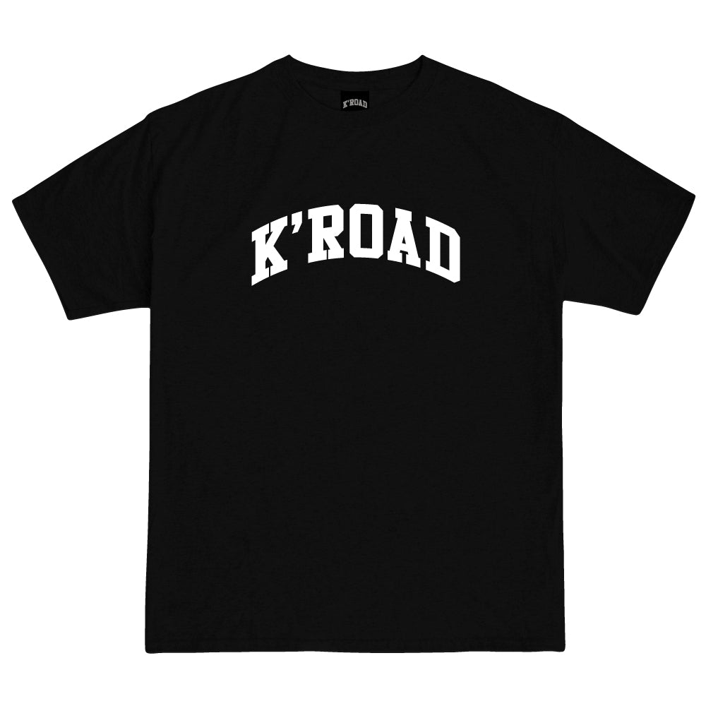 Load image into Gallery viewer, K'ROAD Arch Tee - Black