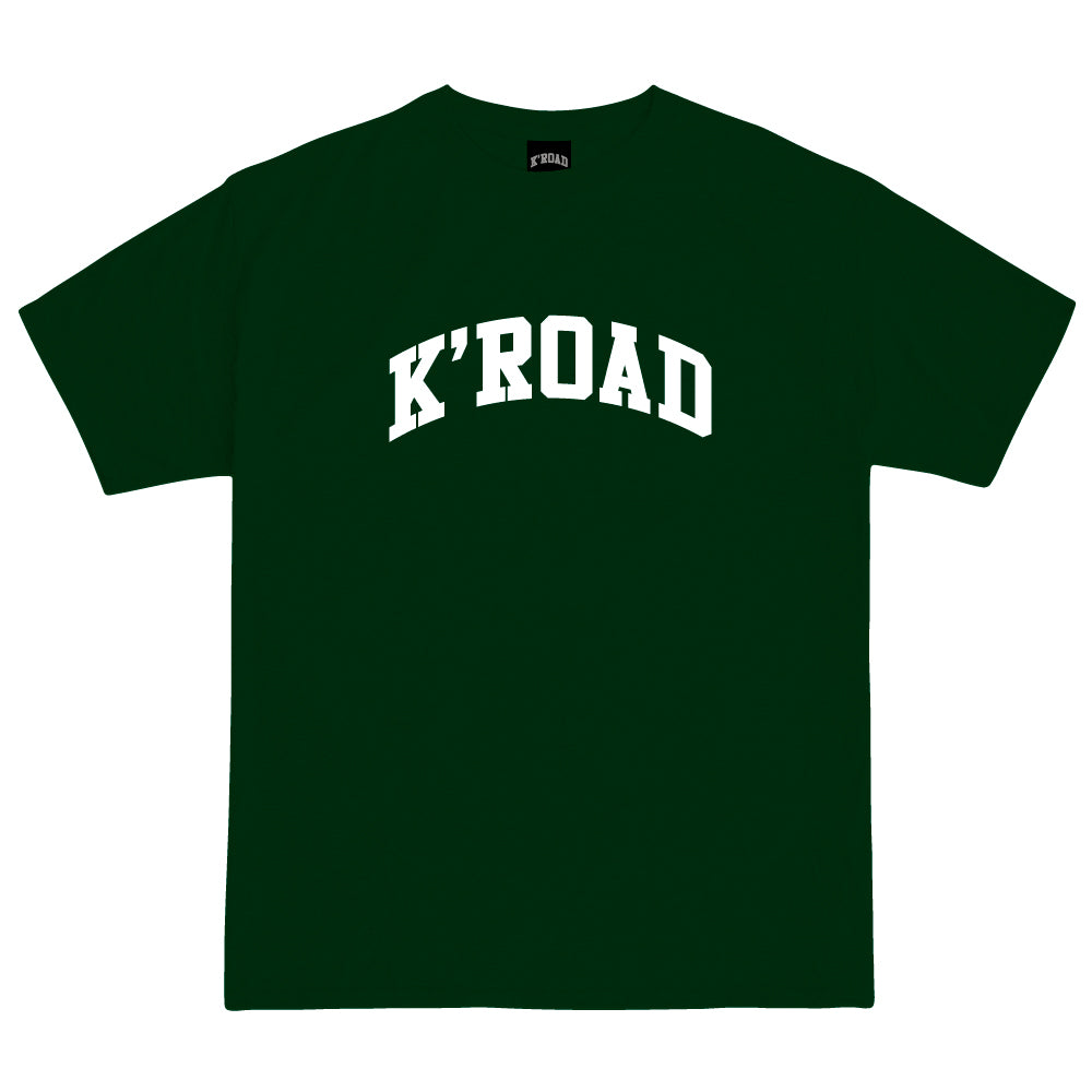 Load image into Gallery viewer, K'ROAD Arch Tee - Forest Green