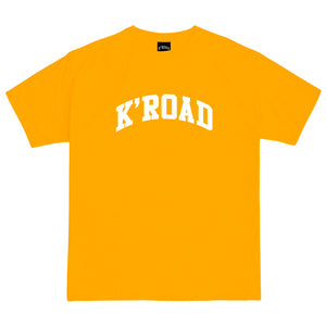 Load image into Gallery viewer, K'ROAD Arch Tee - Gold