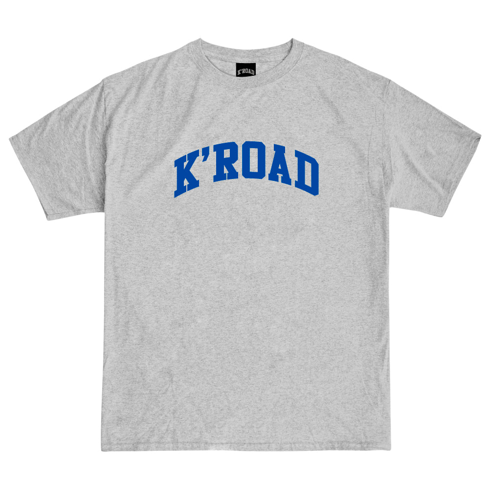 K'ROAD Arch Tee - Heather Grey