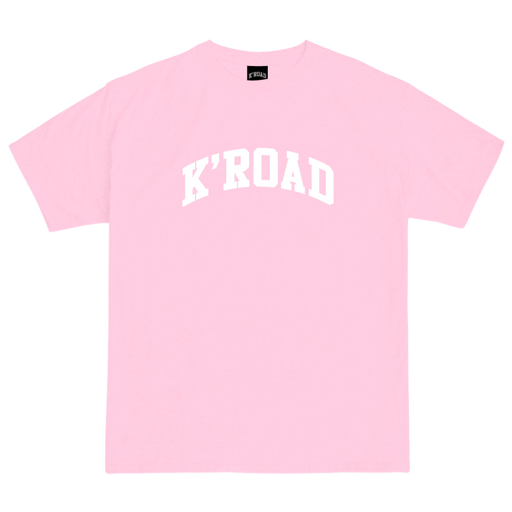 K'ROAD Arch Tee - Light Pink