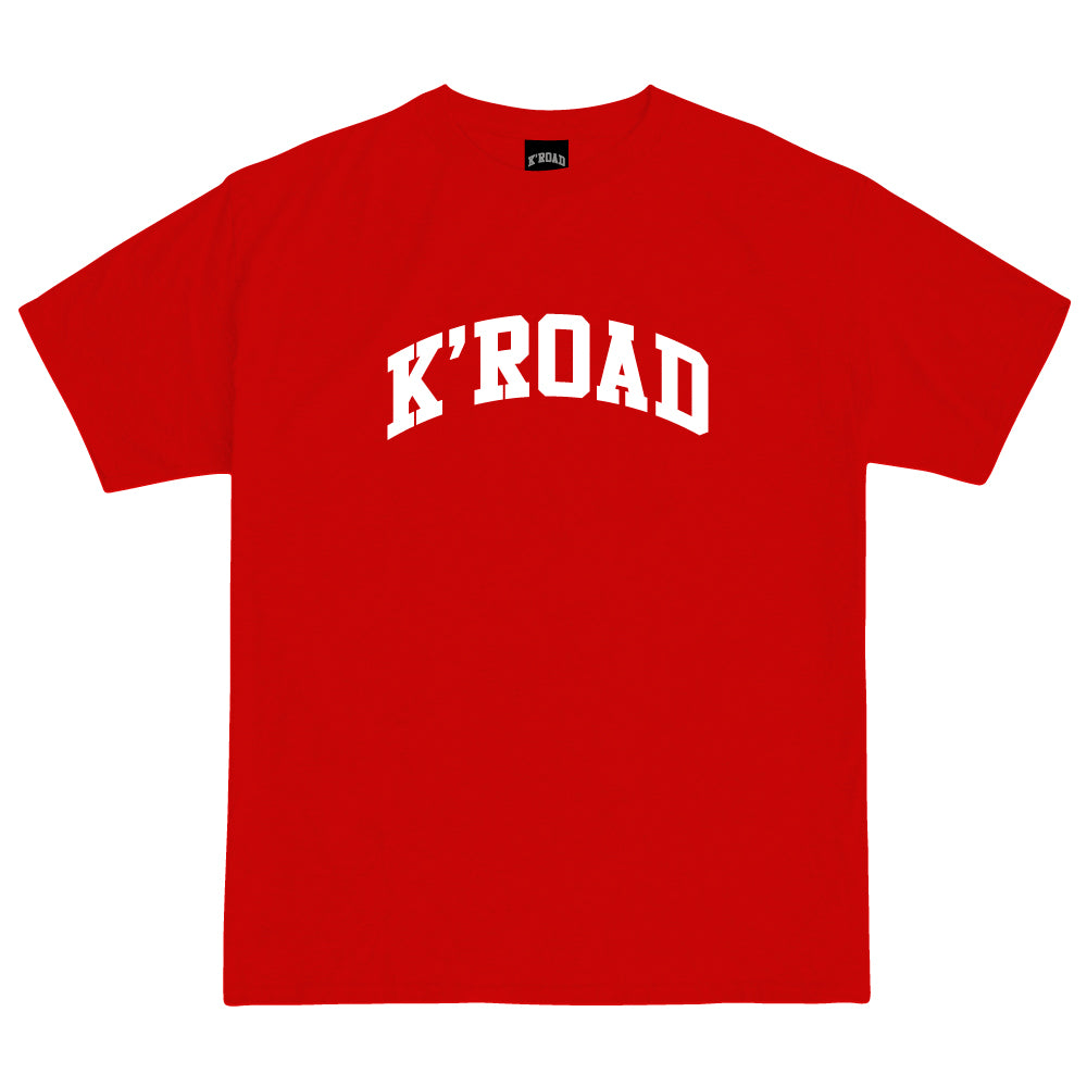 K'ROAD Arch Tee - Red