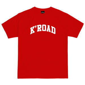 Load image into Gallery viewer, K'ROAD Arch Tee - Red