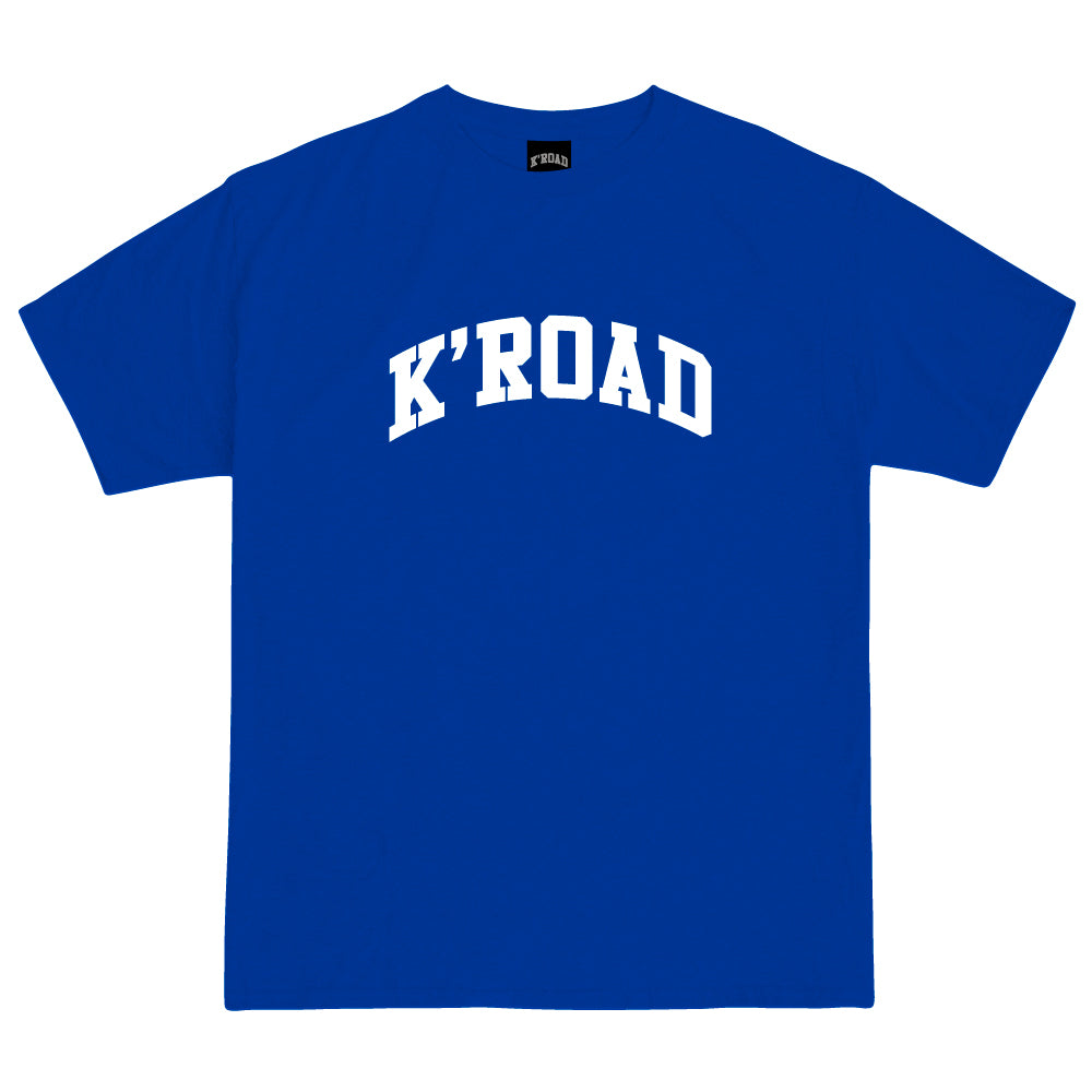 K'ROAD Arch Tee - Royal Blue