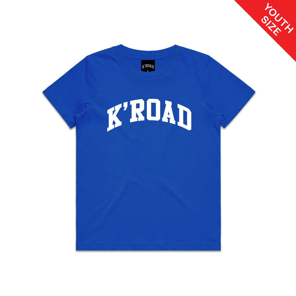 K'ROAD YOUTH Arch Tee - Royal Blue