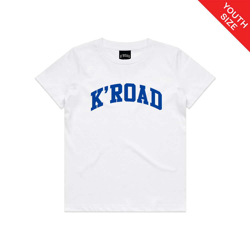 K'ROAD YOUTH Arch Tee - White