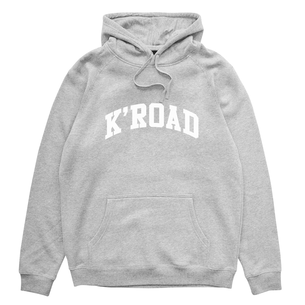 K'ROAD Arch Hood - Heather Grey (W4)