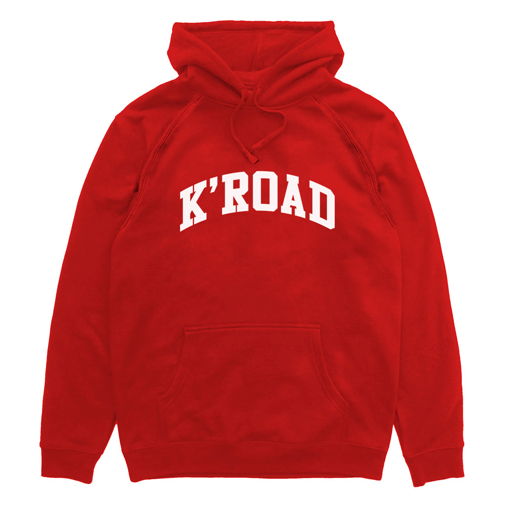 K'ROAD Arch Hood - Red