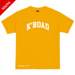 K'ROAD YOUTH Arch Tee - Gold