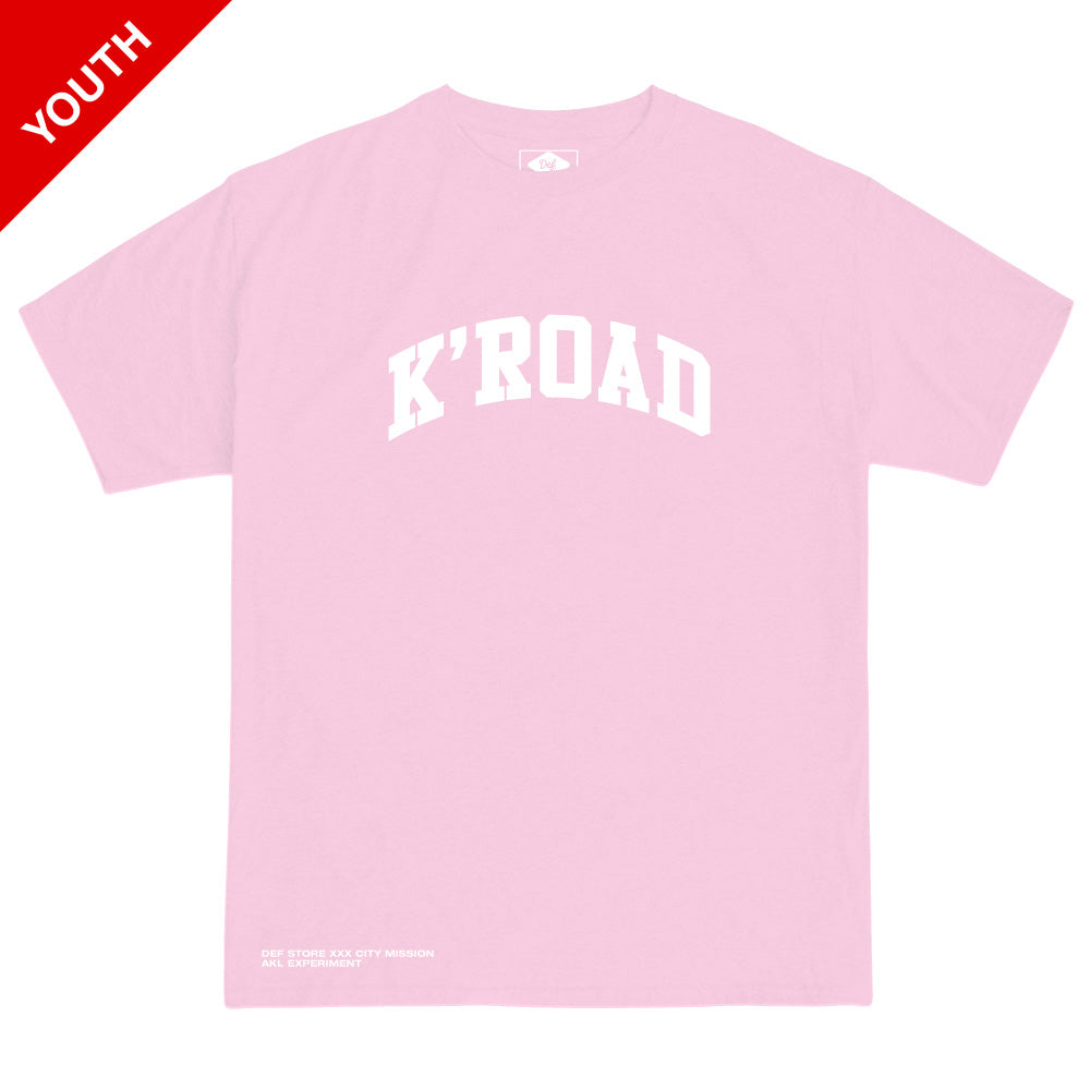 K'ROAD YOUTH Arch Tee - Light Pink
