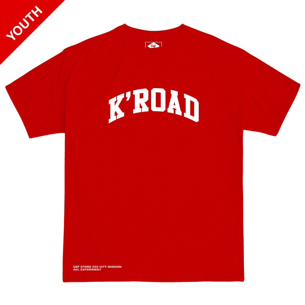 K'ROAD YOUTH Arch Tee - Red
