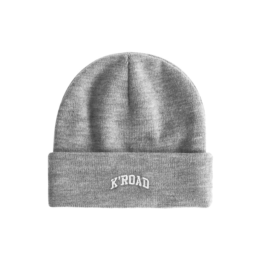 K'ROAD Arch Beanie - Heather Grey