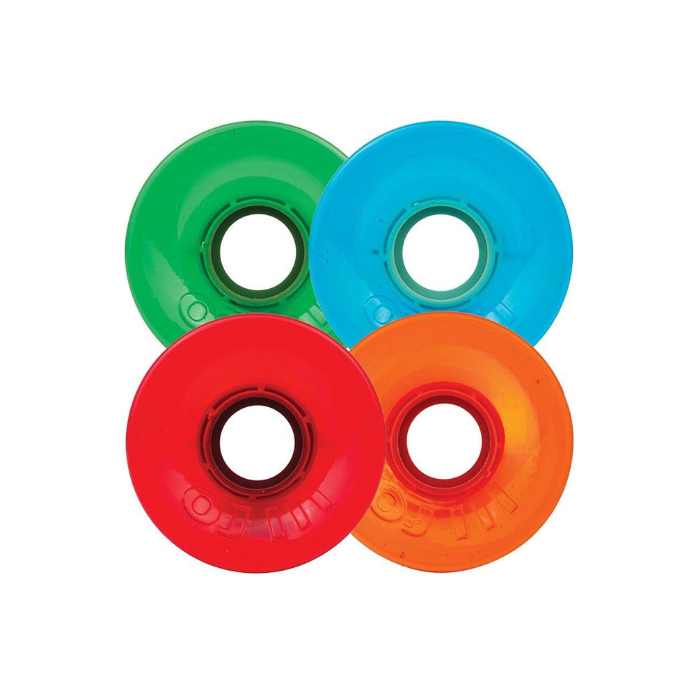 OJ Hot Juice Candy Transparent  Red/Blue/Green/Orange 78A Wheels - 60mm