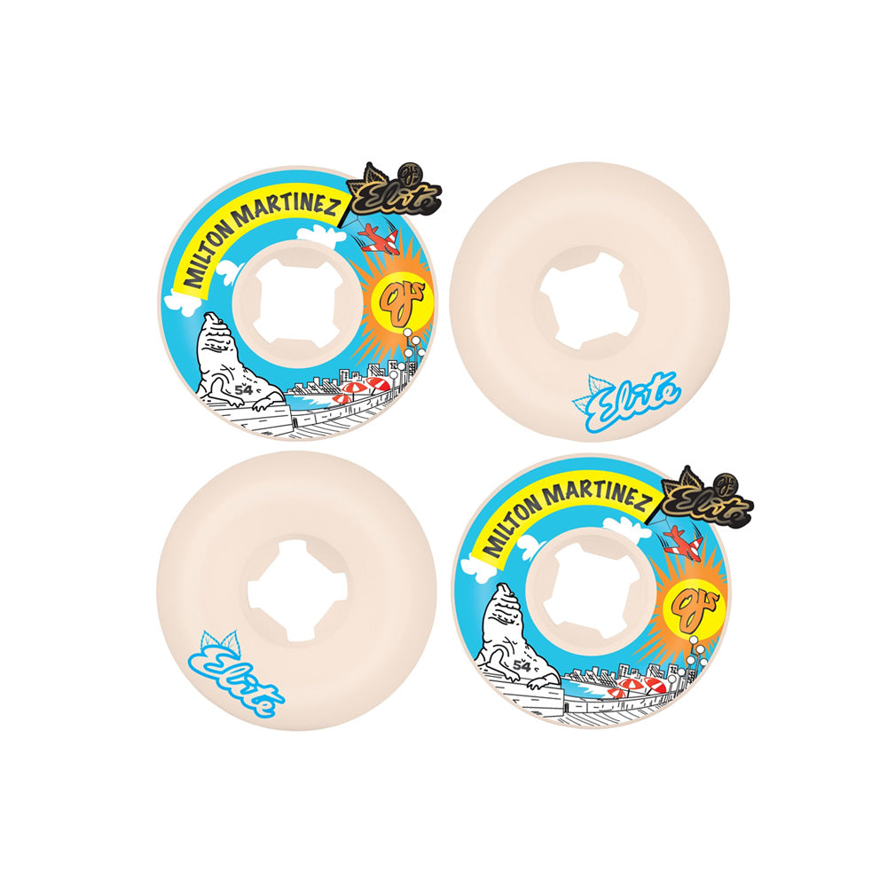 OJ Milton Martinez Blue Skys Elite Mini Combo 101a Skate Wheels - 54mm