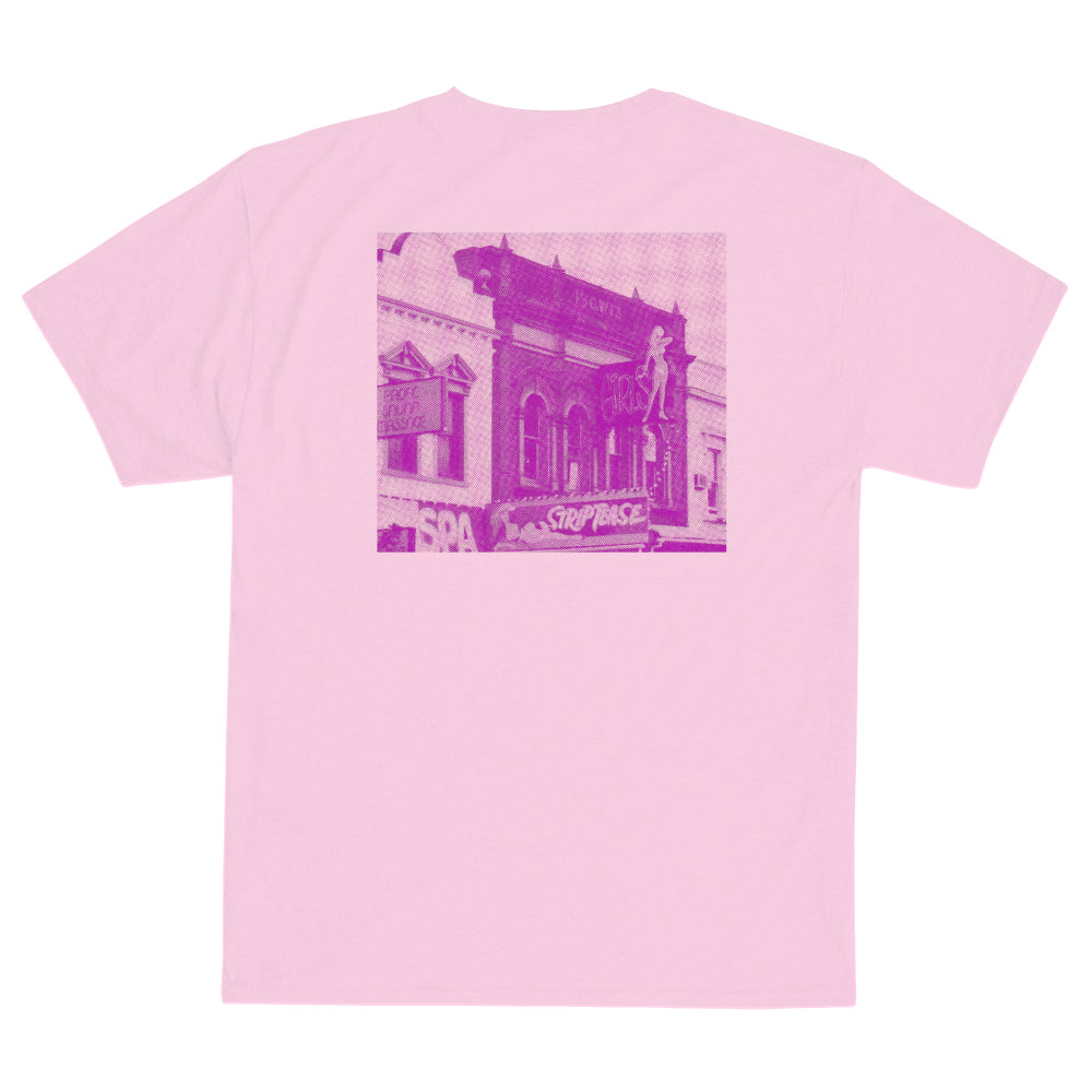 Def Store Pink Pussy Cat Tee - Light Pink
