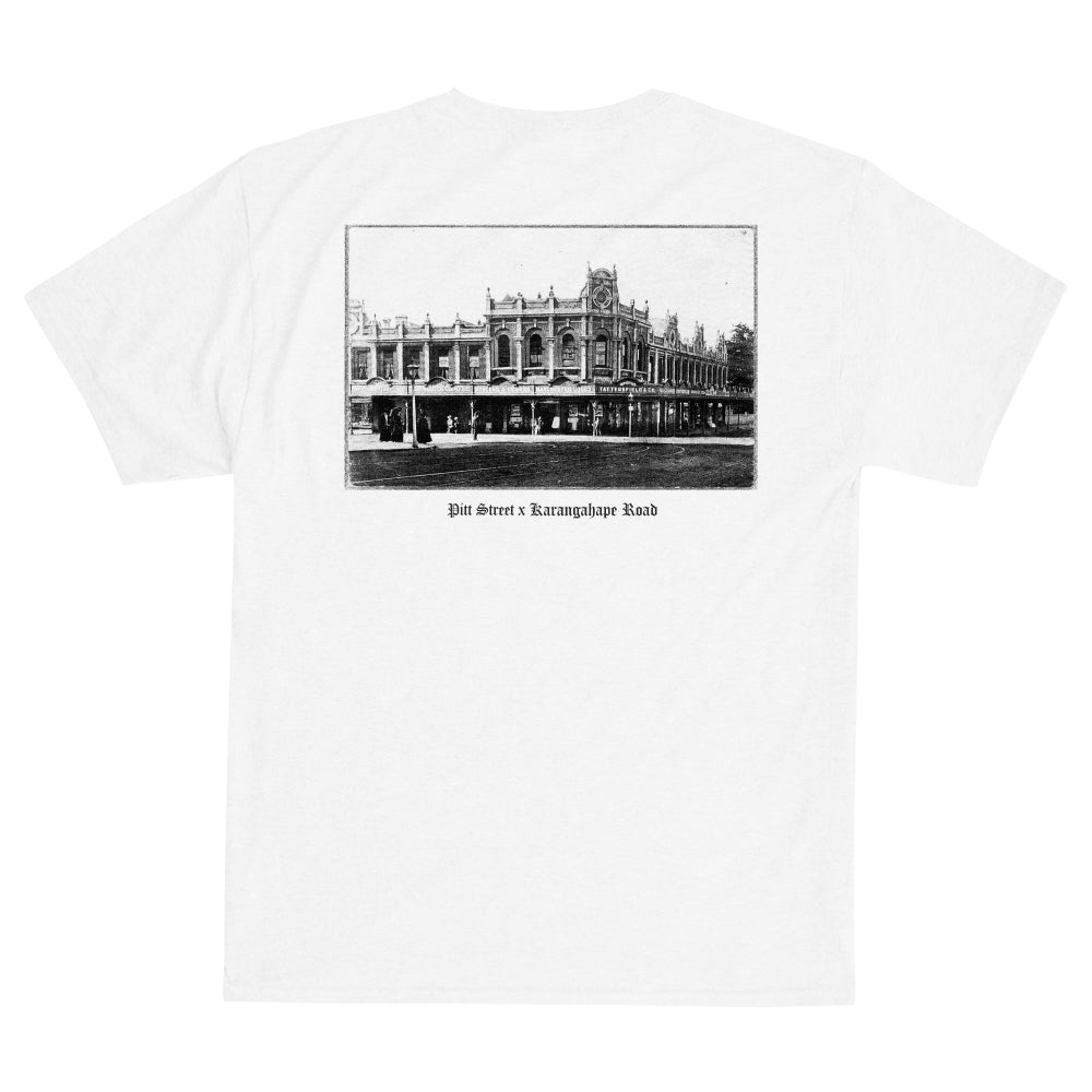 PITT ST x K'ROAD Heritage Tee - White (A2)