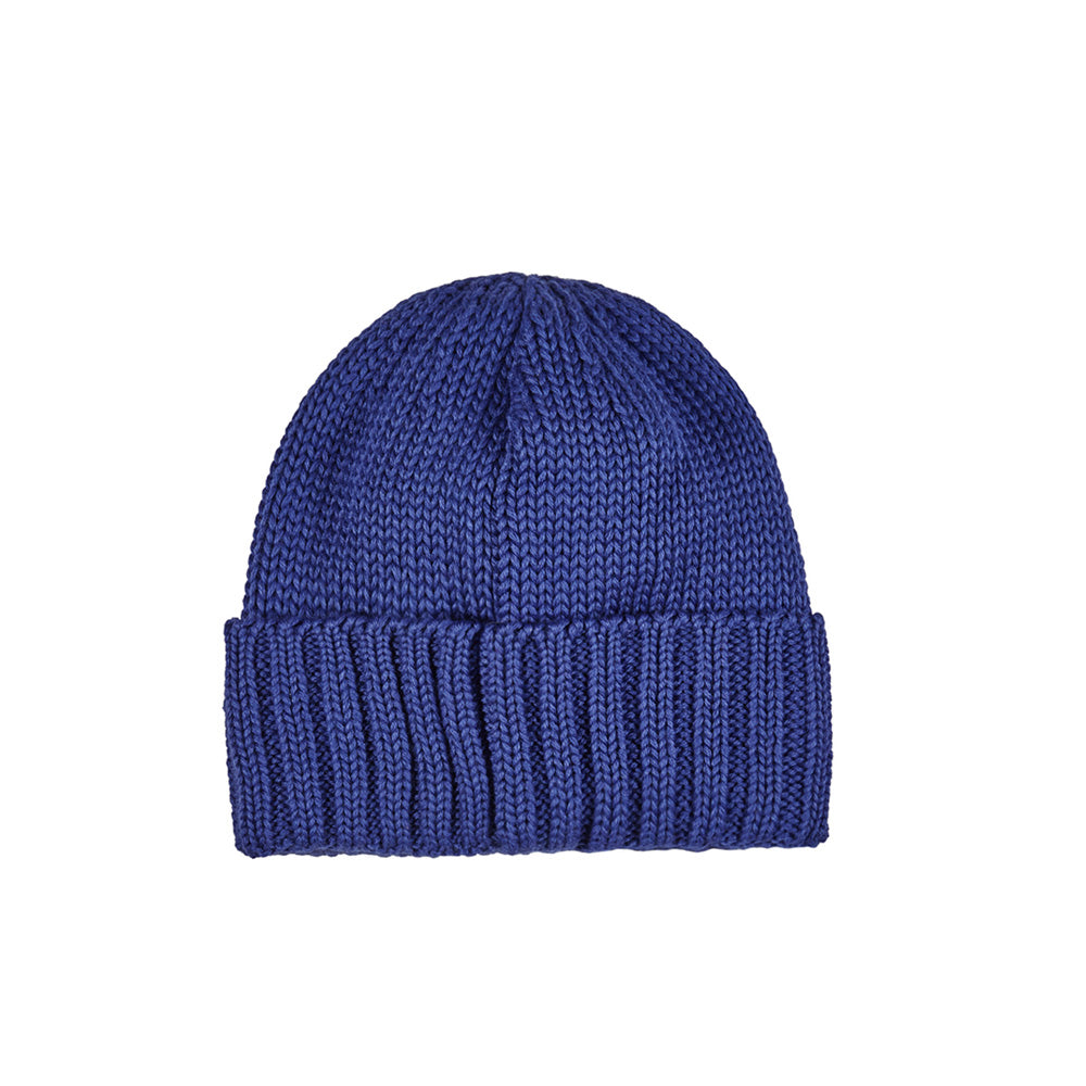 Polar Patch Beanie - Blue