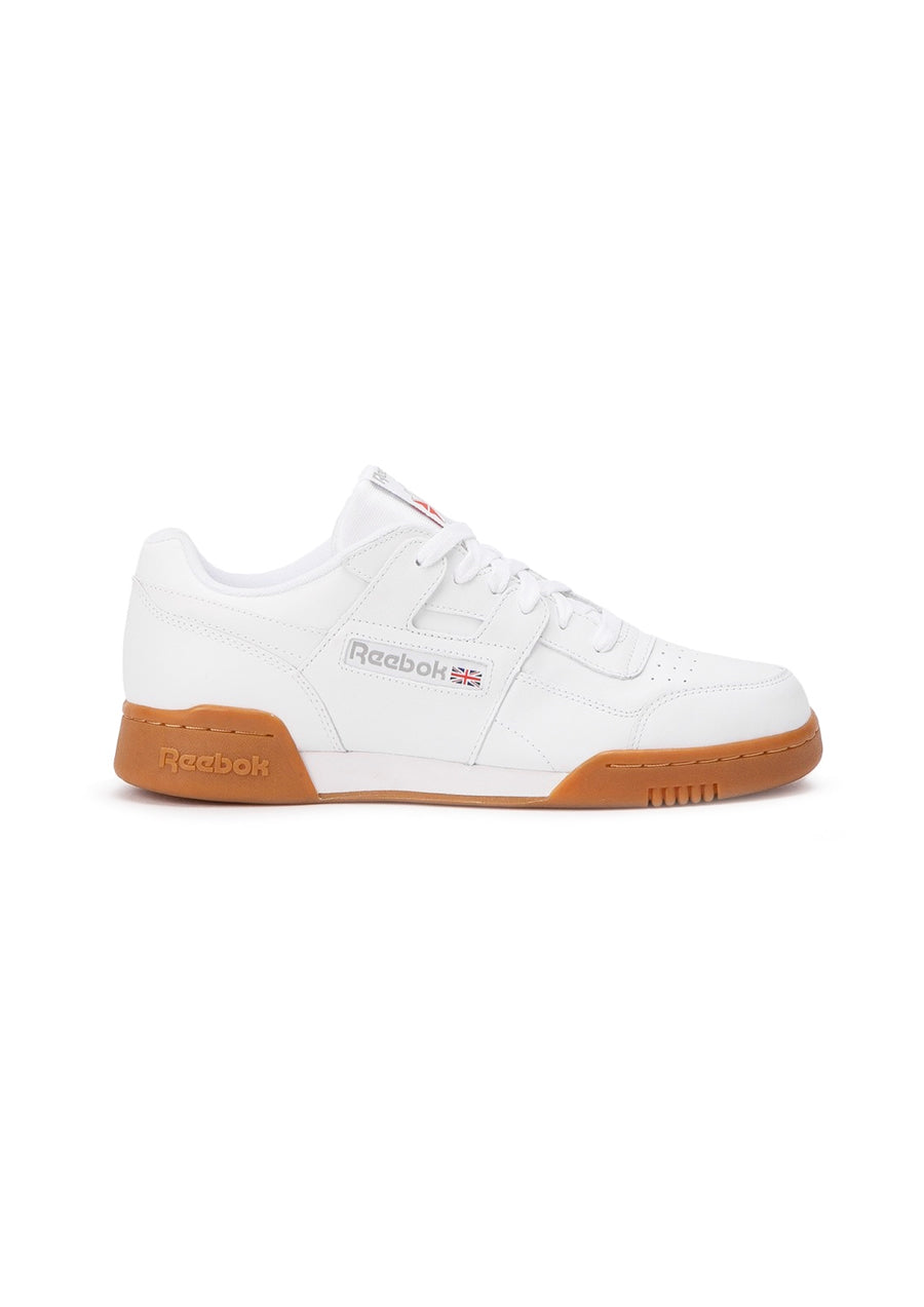 Reebok Workout Plus - White/Carbon/Red/Royal