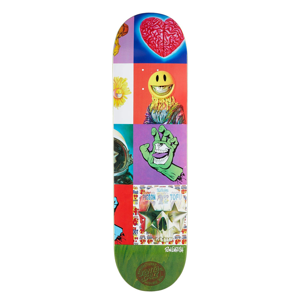 Santa Cruz Ron English Propaganda Three Deck - 8.375""
