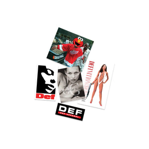 Def Store 5x Sticker Pack