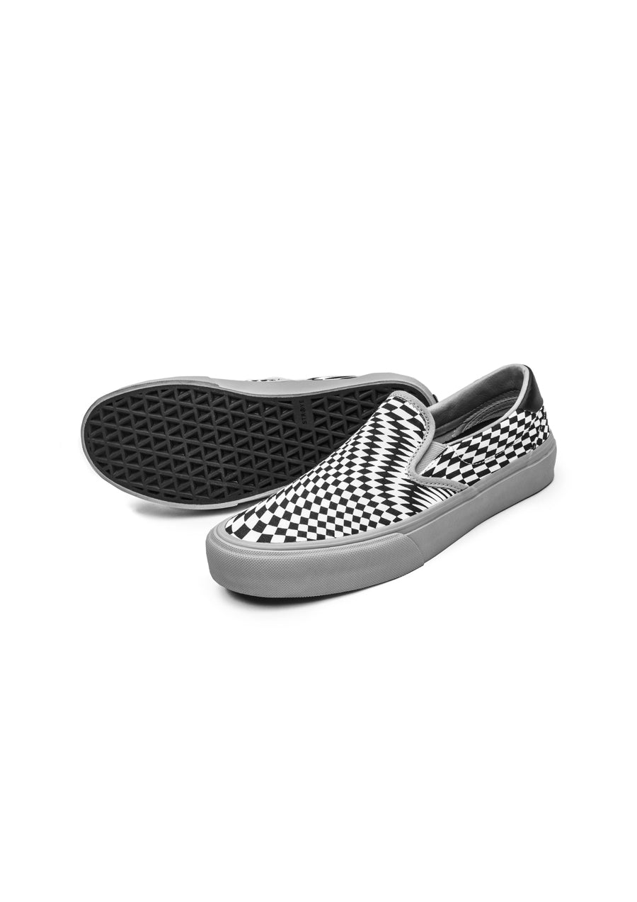 Straye Ventura Slip On Skate Shoes - Checkodelic
