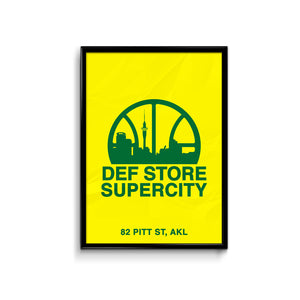 Def Store Supercity Poster - A3