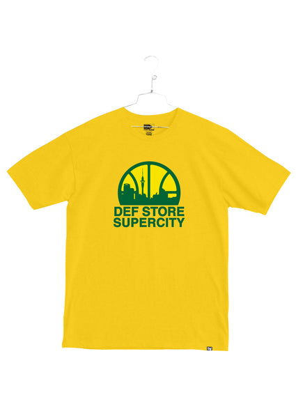 Def Store Exclusive Supercity Tee - Yellow(A2)