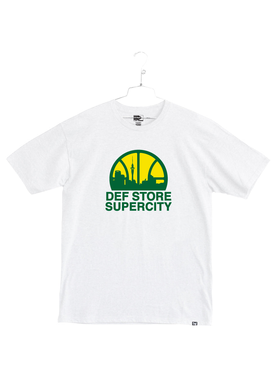 Def Store Exclusive Supercity Tee - White(A2)