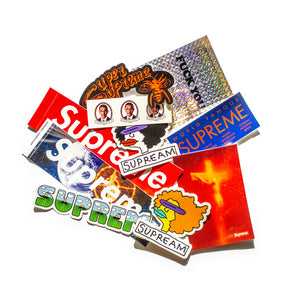 Supreme 10x Sticker Pack
