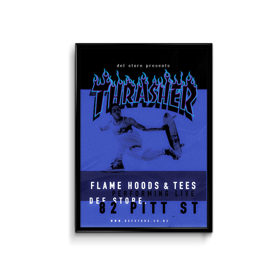 Def Store Thrasher Poster - A3 (Pre-order)
