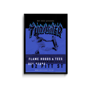 Def Store Thrasher Poster - A3