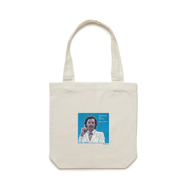 Def x Rain&Shine Steve Elliot Tote Bag - Cream (B2)