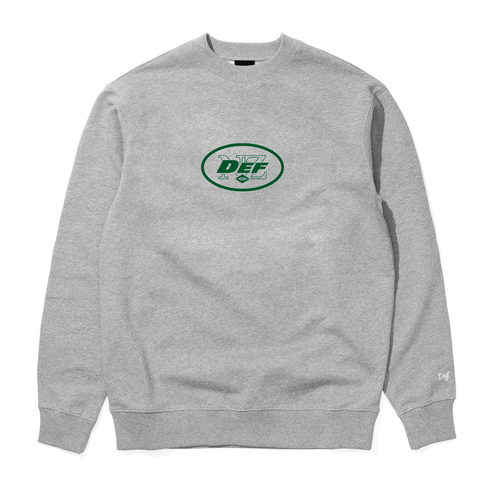 Def Superbowl Crew - Heather Grey (Mid-Weight)