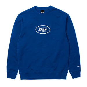 Def Superbowl Crew - Royal Blue (Mid-Weight)