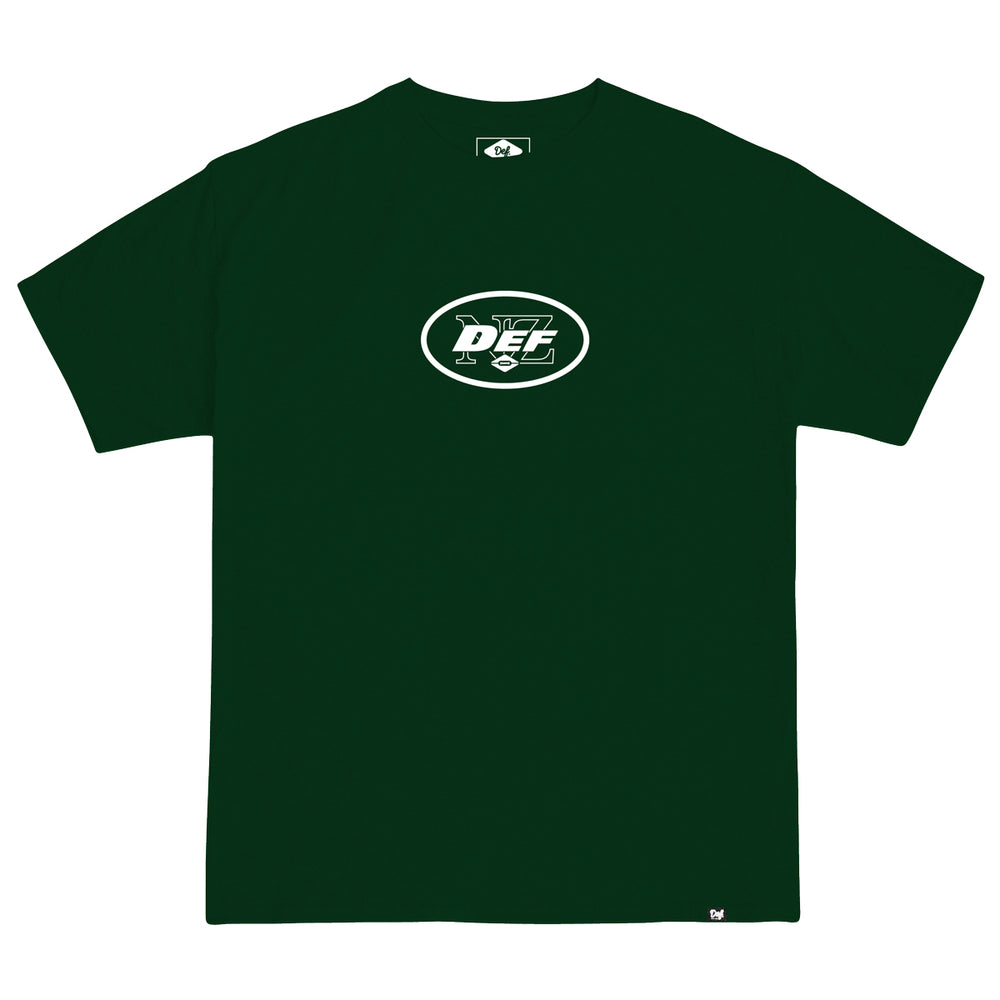 Def Superbowl Tee - Forest Green