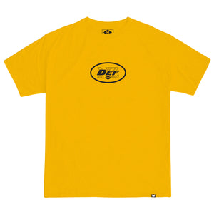 Def Superbowl Tee - Gold